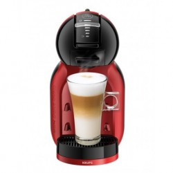 Еспресомашина Krups KP120H, Dolce Gusto MINI ME, 1500W, 0.8l, 15 bar, black & cherry red