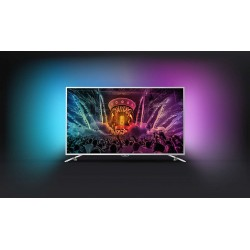 "Телевизор Philips 55PUS6561/12, 55"" UHD, Сребрист"