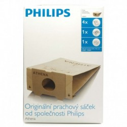 Торба за прах Philips HR6947/01, За еднократна употреба, 4 торбички, Съвместим с HR6815...49