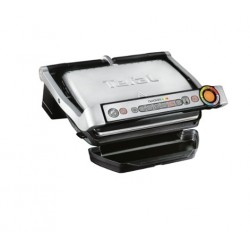 Грил Tefal GC712D34, Optigrill+, 2000W, Система за автоматично готвене, Термостат, 600 cm2 площ за печене