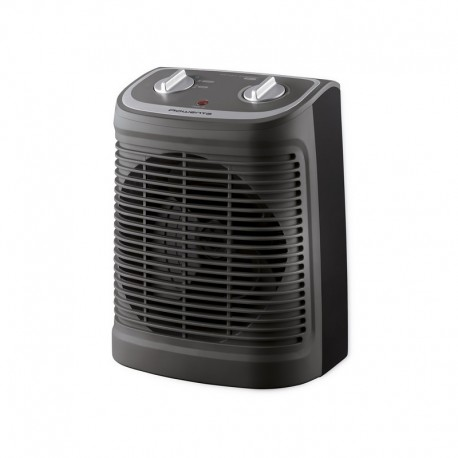 Вентилаторна печка Rowenta S02330F2, 2400W, 2 скорости, cool fan, silence function, 44db(A), thermostat, GREY / BLACK